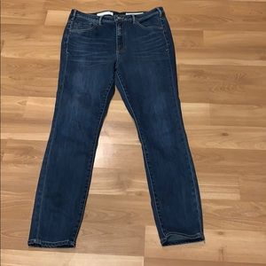 Pilcro and the letterpress high waist jean size 31